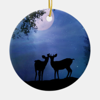 Super Cute Deer First Christmas Together Ornament