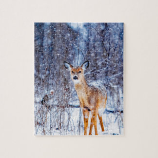 Super Cute Fawn Jigsaw Puzzle