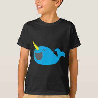 Super cute happy NARWHALE T-Shirt