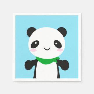 Super Cute Kawaii Panda Paper Napkins
