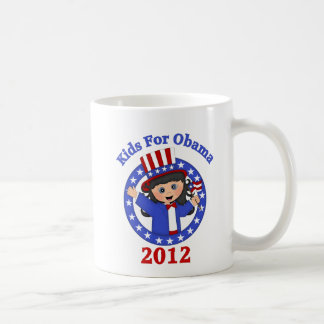 Super Cute Kids For Obama Tees and Gifts Coffee Mugs
