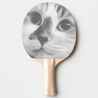 SUPER CUTE Kitten Cat Portrait Ping Pong Paddle