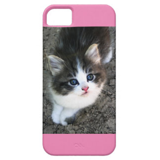 SUPER CUTE Kitten Customizable Barely There iPhone 5 Case