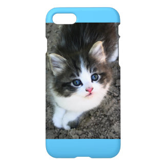 SUPER CUTE Kitten Customizable iPhone 7 Case