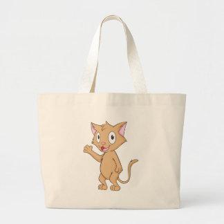 Super Cute Kitten Jumbo Tote Bag