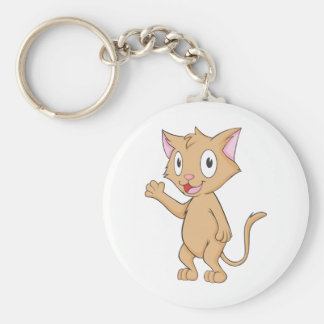 Super Cute Kitten Key Chain