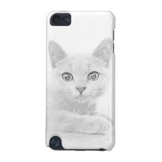 SUPER CUTE Kitten Portrait iPod Touch (5th Generation) Covers