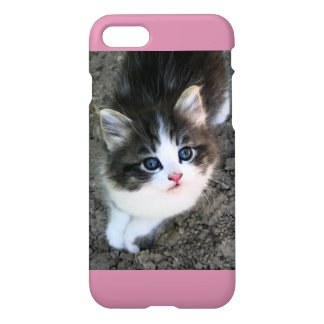 SUPER CUTE Kitten Portrait Photograph iPhone 7 Case