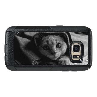 SUPER CUTE Kitten Portrait Photograph OtterBox Samsung Galaxy S7 Case