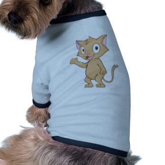 Super Cute Kitten Ringer Dog Shirt