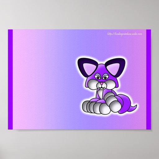 Super Cute Kitty Print