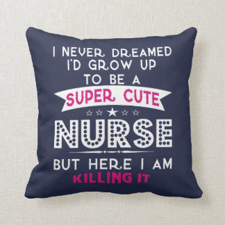 Super cute nurse cushion