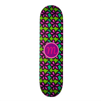 Super Cute Retro Flowers 18.1 Cm Old School Skateboard Deck