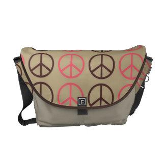 Super Cute Retro Peace Symbol Diaper bag Commuter Bags