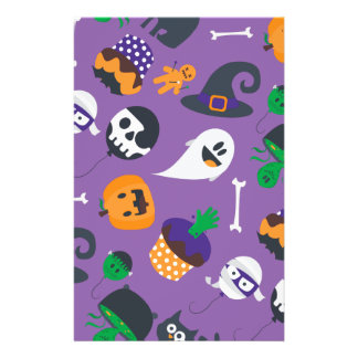 Super cute spooky Halloween stationery