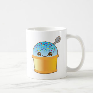 super cute Yummy Yummy bucket icecream! Basic White Mug