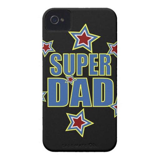Super Dad iPhone 4 Cases