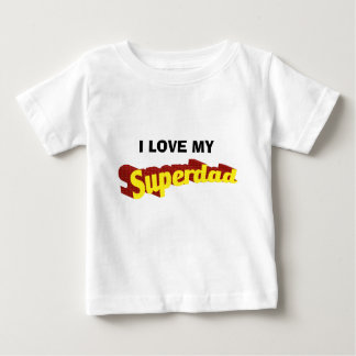 Super Dad dad is my superhero comic text Baby T-Shirt