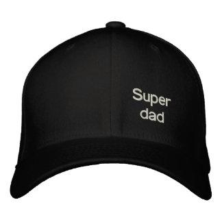 Super dad baseball cap