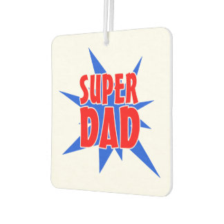 Super Dad Father's Day Car Freshener