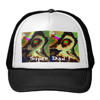 Super Dad !! Fathers Day .. Thanks Funky Dad !! Trucker Hat