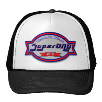 Super Dad Gifts and Super Dad Apparel Trucker Hats