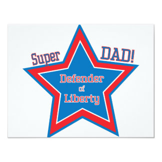 Super DAD! Custom Invite
