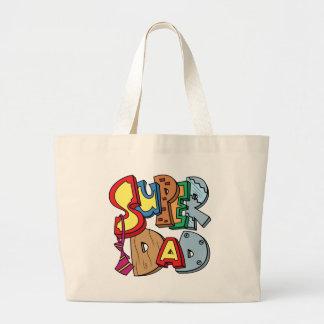 Super Dad Jumbo Tote Bag