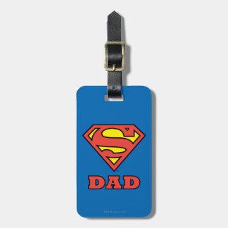 Super Dad Luggage Tag