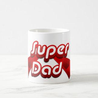 Super Dad Red Mug