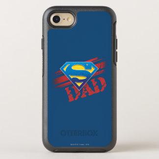 Super Dad Stripes OtterBox Symmetry iPhone 8/7 Case