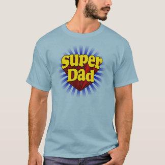 Super Dad, Superhero Red/Yellow/Blue T-Shirt