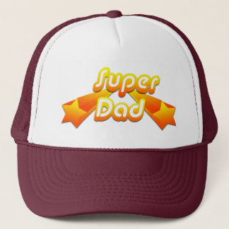 Super Dad Yellow Trucker Hat