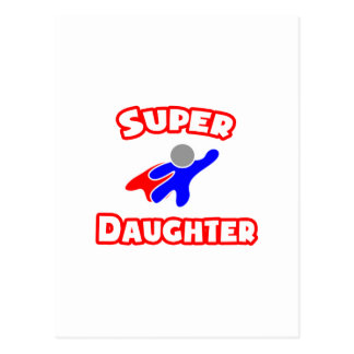Super Daughter Postcard