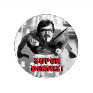 Super Dennis Clock