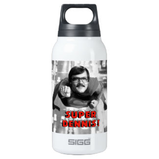 Super Dennis Insulated Water Bottle