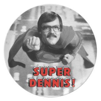 Super Dennis Dinner Plates