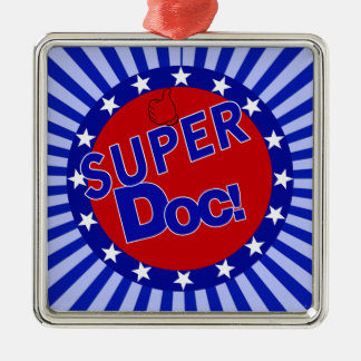 SUPER DOC - DOCTOR - PHYSICIAN CHRISTMAS ORNAMENT