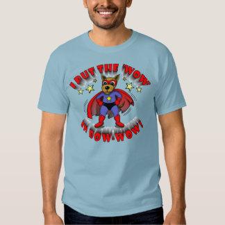super dog cartoon funny shirts for guys