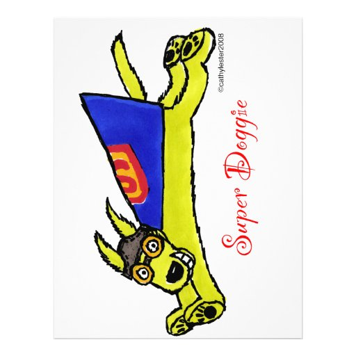 Super Doggie Flyer Design