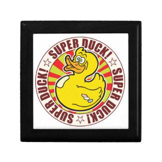 Super Duck Small Square Gift Box