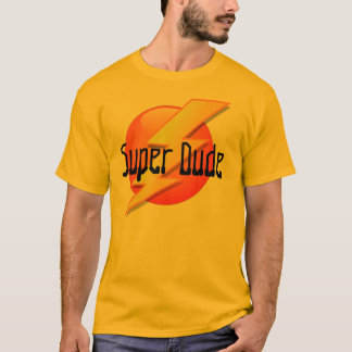 Super Dude Lightning Logo T-Shirt