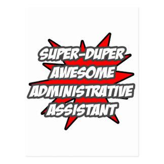 Super Duper Awesome Admin. Assistant Postcard