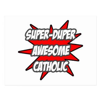 Super Duper Awesome Catholic Postcard