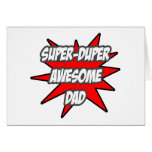 Super Duper Awesome Dad Card