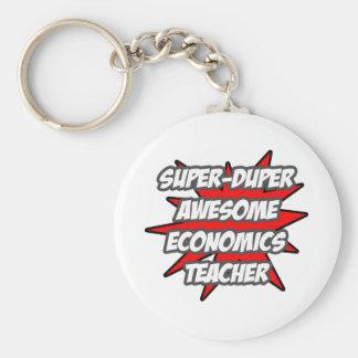Super Duper Awesome Economics Teacher Key Chain