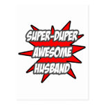 Super Duper Awesome Husband Postcard