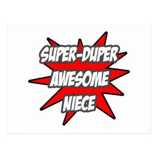 Super Duper Awesome Niece Postcard