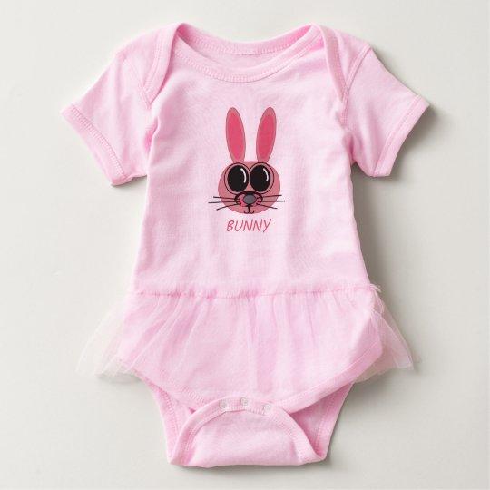Super-Duper Baby Bunny Baby Bodysuit