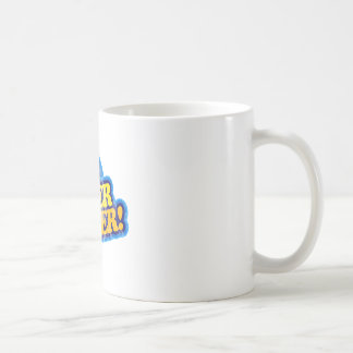 Super Duper! Basic White Mug